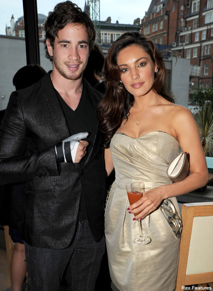 Kelly Brook Danny Cipriani - Danny Cipriani and Kelly Brook?s romantic Christmas getaway - Celebrity News - Marie Claire