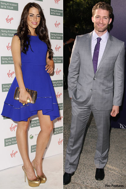 Jessica Lowndes, Matthew Morrison - Kelly Brook and Danny Cipriani split, break-up, new, couples, romance, Jessica Lowndes, 90210, Matthew Morrison, Glee, Marie Claire