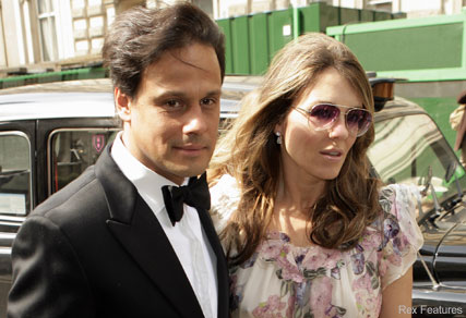 Liz-Hurley-Patsy Kensit's Wedding-Celebrity News