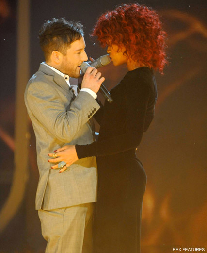Matt Cardle and Rihanna - X Factor winner Matt Cardle on track for Christmas number one - X Factor - When We Collide - Celebrity News - Marie Claire