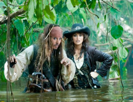 Pirates of the Caribbean: On Stranger Tides - Pirates of the Caribbean - Johnny Depp - Penelope Cruz - Celebrity News - Marie Claire