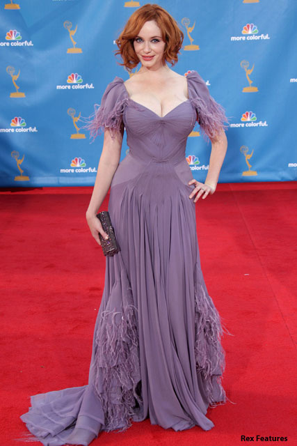 Christina Hendricks - What does your pose say about you? Marie Claire