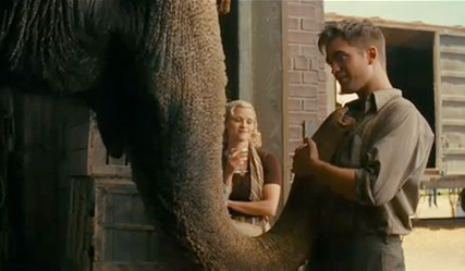 Robert Pattinson - Robert Pattinson and Reese Witherspoon - Water for Elephants - Robert Pattinson Water for Elephants - Water for Elephants trailer - Celebrity News - Marie Claire