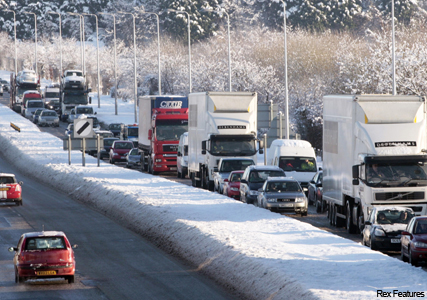 Snow returns to the UK - Marie Claire - Marie Claire news