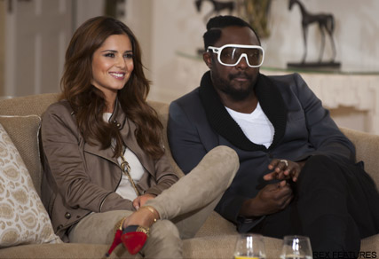 Cheryl Cole and Will.I.Am - X Factor - XFactor - The X Factor - Celebrity News - Marie Claire