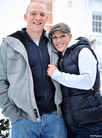 Zarah Phillips and Mike Tindall - FIRST LOOK! Zara Phillips? sparkling engagement ring - Zarah Phillips and Mike Tindall engaged - Celebrity News - Marie Claire