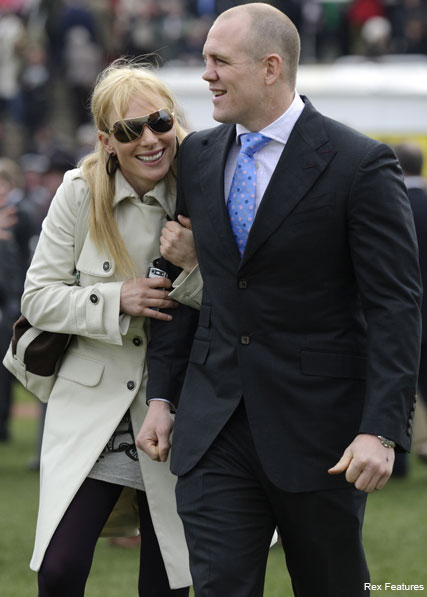 Zara Phillips, Mike Tindall - Zara Phillips engaged - Celebrity News - Marie Claire