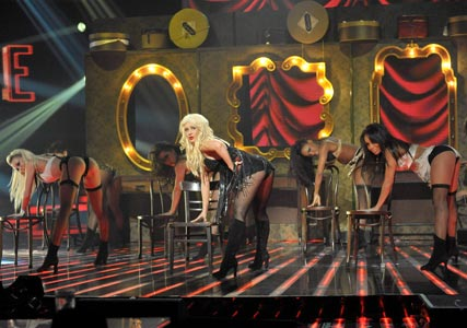Christina Aguilera prompts complaints for raunchy X Factor performance