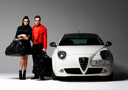 Central St Martin students design bags for Alfa Romeo UK