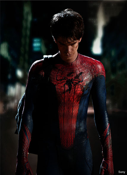 Andrew Garfield - PICS: Andrew Garfield as Spider-Man - Spider Man - Spiderman - Andrew Garfield - Celebrity News - Marie Claire
