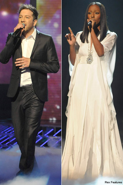 Alexandra Burke and Matt Cardle- - The Brit Awards - Brit Awards Nominations - Brit Awards 2011 - Cheryl Cole - Tinie Tempah - Celebrity News - Marie Claire