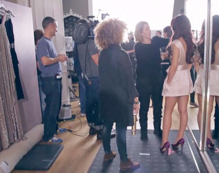 Cheryl Cole - WATCH! Behind the scenes with Cheryl Cole - Celebrity News - Marie Claire