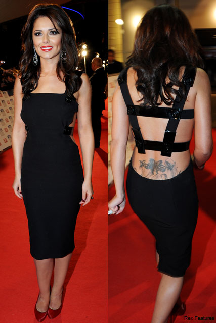 Cheryl Cole - PICS: Cheryl Cole shows off new tattoo at National Television Awards - Cheryl Cole Tattoo - Celebrity Tattoos - National Television Awards - National TV Awards - National TV Awards pics - Celebrity News - Marie Claire