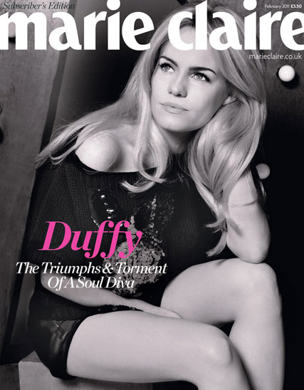 Duffy - EXCLUSIVE! Duffy on finding love, selling millions, and how she could walk away from music at any time - Duffy Marie Claire UK - Marie Claire February - Marie Claire