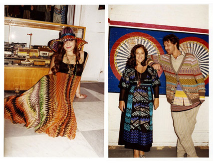 - First look: Leighton Meester for Missoni! - Spring, summer, 2011, campaign, ad, family, friends, see, pics, pictures, fashion, news, Marie Claire