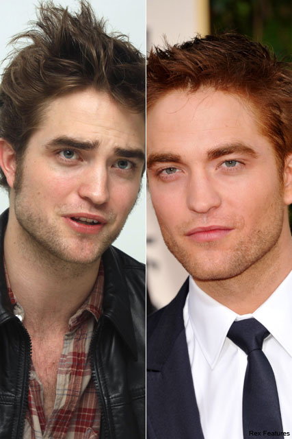 Robert Pattinson - PICS! Robert Pattinson debuts dyed new
