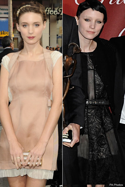 Rooney Mara - The Girl With the Dragon Tattoo - Celebrity News - Marie Claire