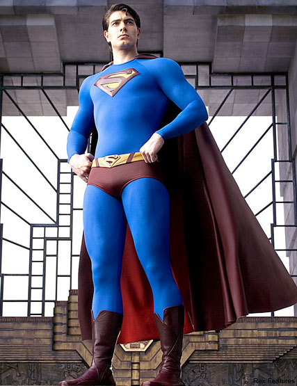 Brandon Routh   - Brit boy Henry Cavill to play Superman - Superman - Spider-Man - Celebrity News - Marie Claire - Marie Claire  UK