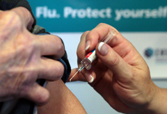 Flu death toll rises