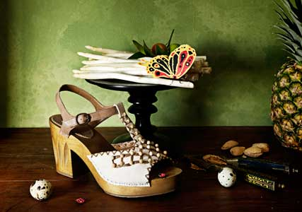 Anthropologie launches first ever shoe space in London