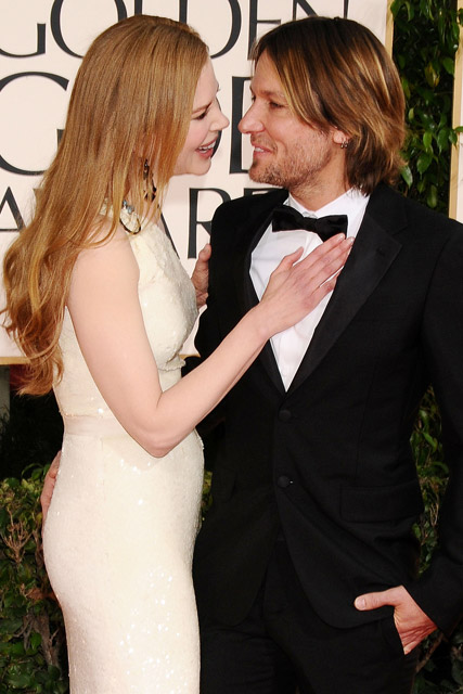 Nicole Kidman and Keith Urban - Cutest Couples - Golden Globes 2011 - see, pics, pictures, pair, Celebrity, Marie Claire