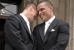 Gay Couple - World News - Marie Claire