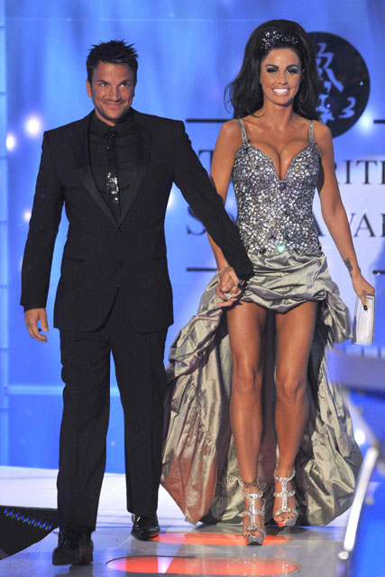 Jordan and Peter -2009 British Soap Awards - gallery - marie claire