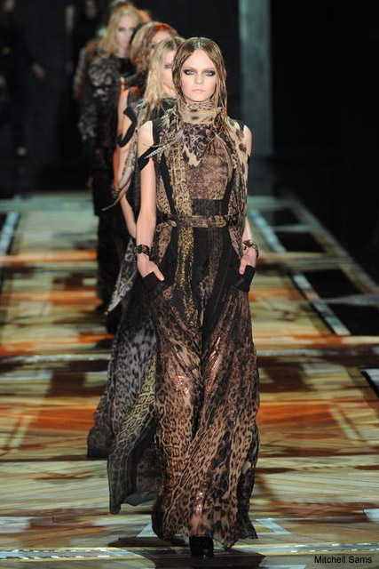Roberto Cavalli Autumn Winter 2011, Milan Fashion Week
