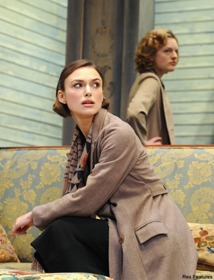 Keira Knightley and Elisabeth Moss - FIRST LOOK! Kiera Knightley and Elizabeth Moss?s Children?s Hour pics - The Children