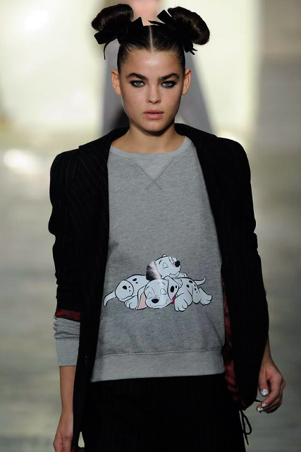 Topshop Autumn Winter 2011 Catwalk Photos