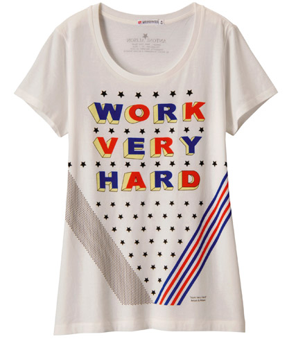 Antoni and Alison design T-Shirts for Uniqlo