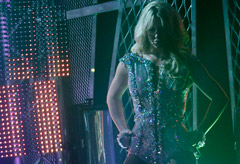 Britney Spears on Good Morning America - live, performance, first, stage, return, Femme Fatale, new, album, single, Hold It Against Me, see, pics, pictures, photos, watch, singing, dancing, Marie Claire