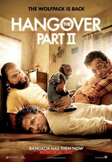 Hangover 2 poster - Hangover 2 - Hangover 2 trailer - The Hangover 2 - Bradley Cooper - The Hangover - Marie Claire - Marie Clarie UK