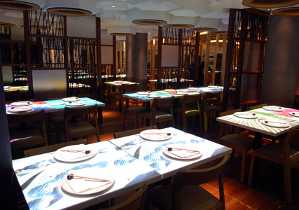 Inamo St. James - restaurant review, Marie Claire