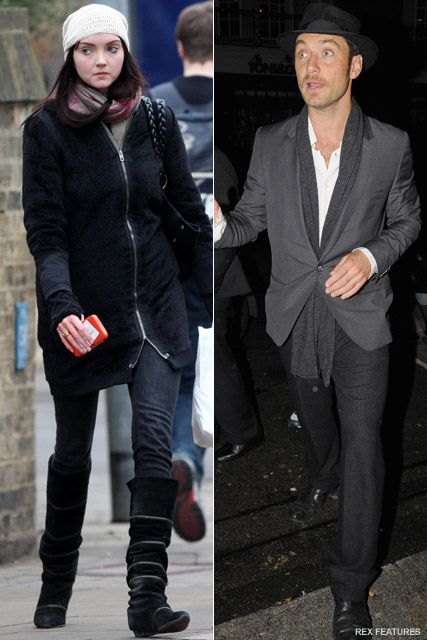 Jude Law Lily Cole - Jude Law dating Lily Cole? - Jude Law - Lily Cole - Celebrity News - Marie Claire - Marie Claire UK