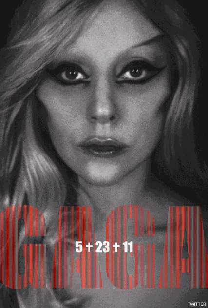 Gaunt Lady Gaga's shocking promo picture revealed