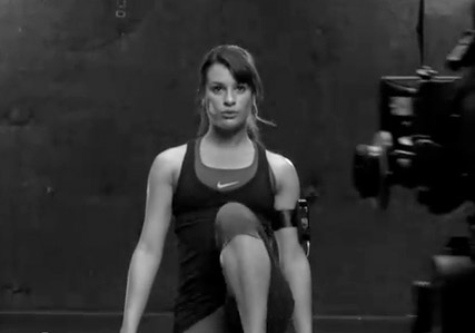 Lea Michele - Get fit with Lea Michele - Glee - Marie Clarie - Maire Claire UK
