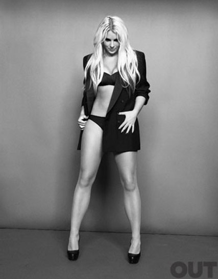 Britney Spears - FIRST LOOK! Britney?s sizzling new photo shoot - Out magazine - Britney Spears Out magazine - Hold it Against Me - Video - Celebrity News - Marie Claire - Marie Claire UK