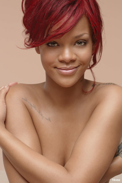 Rihanna on Rolling Stone - magazine, cover, see, pics, pictures, full, size, denim, shorts, hotpants, bum, Marie Claire