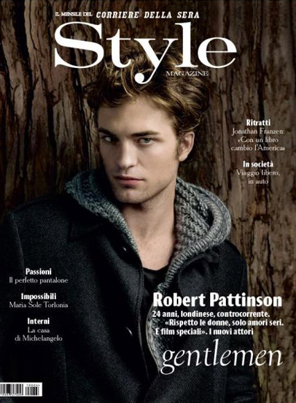 Robert Pattinson - FIRST LOOK! Robert Pattinson?s smouldering cover shoot - Style Magazine - Robert Pattinson Style Magazine - Robert Pattinson Kristen Stewart - Rob Pattinson - Water for Elephants - Marie Clarie - Marie Clarie UK