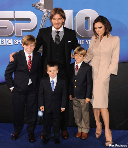 The Beckhams - Stylish Romeo Beckham makes list of Britain