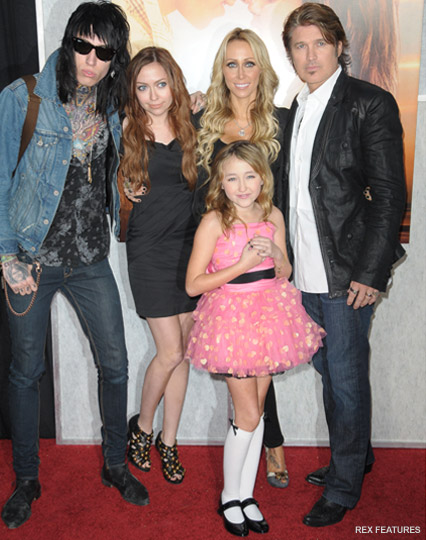Tish and Billy Ray Cyrus - Tish Cyrus - Billy Ray Cyrus - Marie Claire - Marie Claire UK