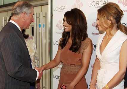 Cheryl Cole and Prince Charles at The Prince's Trust Celebrate Success Awards