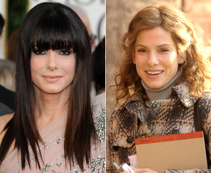 Sandra Bullock hair makeover for new movie Extremely Loud and Incredibly Close