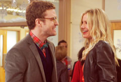 Justin Timberlake and Cameron Diaz - FIRST LOOK! Cameron Diaz and Justin Timberlake's racy Bad Teacher trailer - Bad Teacher - Cameron Diaz - Justin Timberlake - Celebrity News - Marie Claire