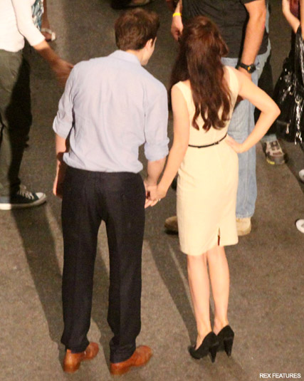 Robert Pattinson and Kristen Stewart - Robert Pattinson - Kristen Stewart - Breaking Dawn - Breaking Dawn Pics - Breaking Dawn Twilight - Breaking Dawn Filming - Twilight - Celebrity News - Marie Claire