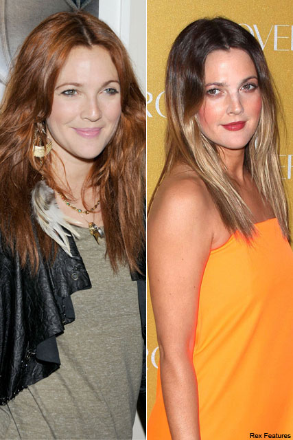 Drew Barrymore - Drew Barrymore Hair - Drew Barrymore Red Hair - Marie Claire - Marie Claire UK