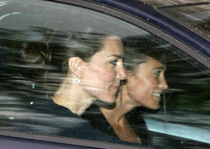 Kate & Pippa Middleton - Kate Middleton - Pippa Middleton - Prince William - William and Kate - Prince William Kate Middleton - Royal Wedding - Marie Claire - Marie Claire UK