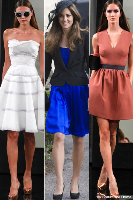 Victoria Beckham to send dress selection to Kate Middleton - royal, wedding, posh, frock. fan, spring/summer 2011, autumn/winter 2011, celebrity, fashion, style, Marie Claire