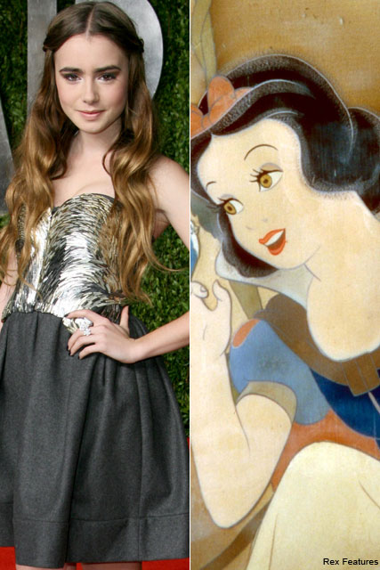 Lily Collins - Lily Collins lands Snow White lead - Lily Collins Snow White - Lily Collins Taylor Lautner - Kristen Stewart - MArie Claire - Marie Claire UK